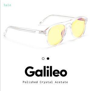 Westward Leaning Galileo Yellow Sunglasses
